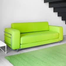 Bright Green Area Rugs Lime Green Contemporary Sofa Bed Design Inspiration Along With