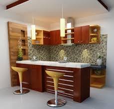 modern compact kitchen design interior kitchen set dan minibar minimalist modern yogyakarta