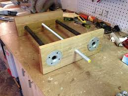 diy woodworking vise