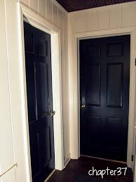 Interior Door Color Painting Interior Doors Black Why I Chose To Do It Chapter37