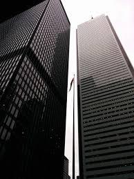 bureau ville la grand images gratuites grattes ciels noir et blanc la tour toronto