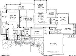 10 Bedroom House Floor Plans House Plan The Spencer Hall By Donald A Gardner Architects