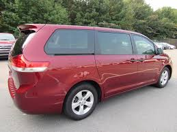 2013 used toyota sienna 5dr 7 passenger van v6 l fwd at landers