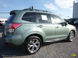 subaru forester touring 2017 2017 jasmine green metallic subaru forester 2 5i touring