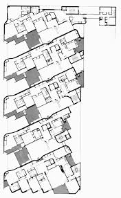 Typical Floor Plans Of Apartments Housing Prototypes Girasol Apartments