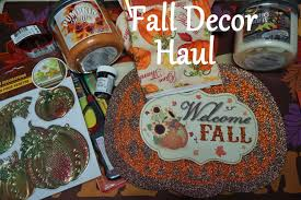 fall decor haul dollar tree u0026family dollar 2015 divadollflawless
