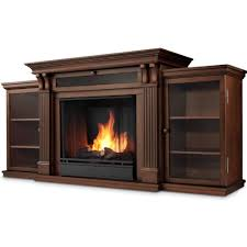 Tv Stands With Electric Fireplace Real Calie Tv Stand W Ventless Electric Fireplace In