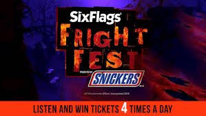 listen win 4 packs of tickets to experience fright six