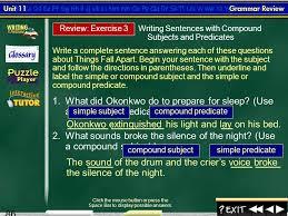 splash screen unit 11 parts of the sentence 2 contents unit 11