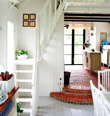 interior garden cottage f one level with loft magnificent small chalet loft ideas instead of a ladder to the loft a tiny staircase