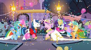 mlp wedding castle my pony friendship is magic princess wedding castle playset