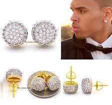 diamond earrings on guys men s earrings studs ebay