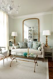 Design Your Livingroom Living Room With Wall Mirror And Cream Sofa Decorate Your Room