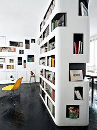 circular bookshelf design decoration