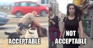 Black Man White Woman Meme - wecopwatch s disassociation of recent posts on copblock