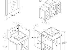 bathroom sink size sheet standard bathroom sink dimensions uk