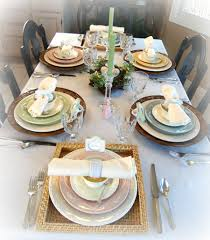 the nest at finch rest our easter table