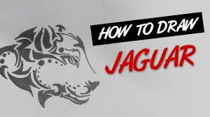 how to draw jaguar tribal tattoo design ep 133 youtube