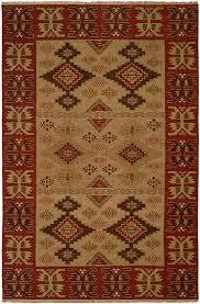 rug rustic rug western rug lodge rug handwoven soumak rug