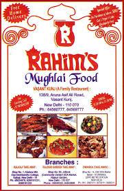cuisine shop mughlai and awadhi cuisine vasant kunj rahim s mughlai