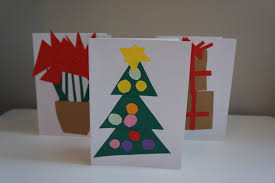 how to 3 easy christmas card crafts to make with toddlers wave