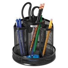 Desk Accessories Organizers by Wire Mesh Spinning Desk Sorter By Rolodex Rol1773083