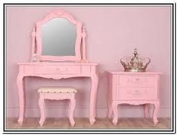 Pink Vanity Table Girls Vanity Table Uk Home Design Ideas