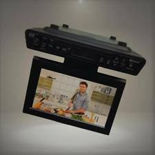 Under Kitchen Cabinet Tv Dvd Cd Player Radio Sylvania Skcr2706bt 10 2 Inch Under Cabinet Kitchen Tv Ebay