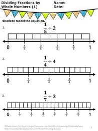 181 best 5th grade math fractions images on pinterest math