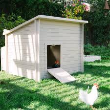 Chicken Coop Kit Little Cottage Unpainted Gambrel Barn Chicken Coop Large 6 X 8