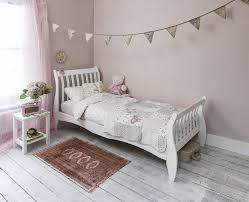 Single Wood Bed Frame Single Bed In White 3ft Single Sleigh Wooden Frame Astrid Amazon