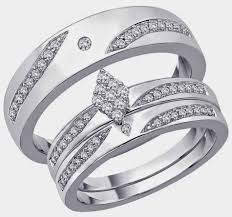 wedding ring trio sets rhombus diamond trio wedding ring sets jared design