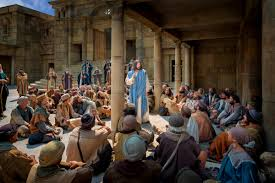 jesus teaching a multitude mormon channel