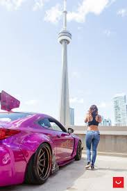 lexus rc 200t canada instagram model tianna g connects with pink widebody lexus rc f 21