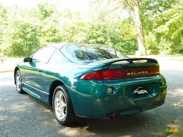 mitsubishi eclipse 1997 1997 monarch green pearl metallic mitsubishi eclipse gs coupe