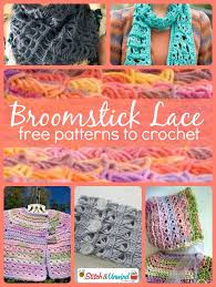 broomstick crochet trending broomstick lace patterns to crochet broomstick lace