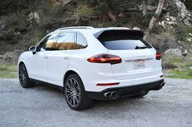 2017 porsche cayenne gts blue 2017 porsche cayenne s one weekend review automobile magazine