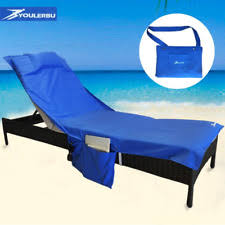 Chaise Lounge Terry Cloth Covers Lounge Chair Cover Ebay