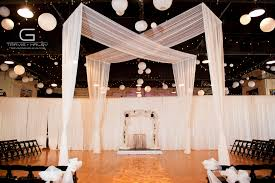 wedding backdrop canopy design with canopy drape so high above the backdrop