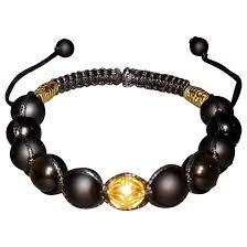 shamballa bracelet price images Black and gold 12mm shamballa bracelet poke designs jpg