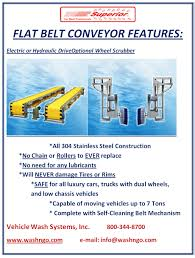 flat belt conveyor washngo