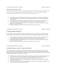 Aircraft Mechanic Resume Maintenance Technician Resume Avionics And Electrical Maintenance