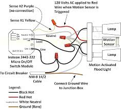 how to wire a motion sensor to multiple lights brinks motion sensor light wiring diagram wiring center