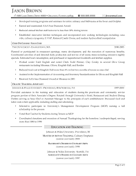 chef consultant sample resume g4s security officer cover letter