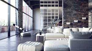 Industrial Lofts Industrial Loft Modern Living Rooms Carameloffers