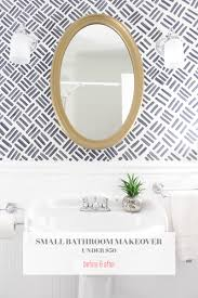 Small Bathroom Makeovers Pictures - small bathroom makeover the full before u0026 after