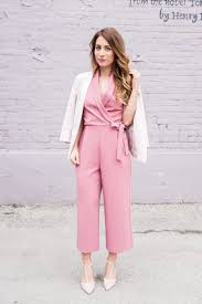 all into one jumpsuit ootd pink culottes jumpsuit la noob a toronto based