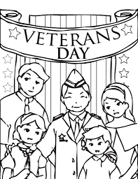 coloring pages veterans day coloring pages holiday kids pedia
