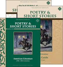 poetry u0026 short stories american literature set memoria press