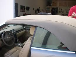Car Upholstery Installation The Prestige Companies Auto Upholstery Audi Convertible Top Install